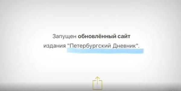 петербургский дневник главный редактор